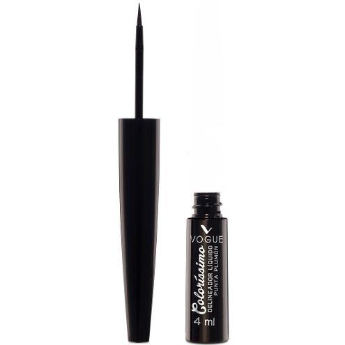 Comprar Delineador De Ojos Líquido Vogue Colorissimo Negro X 4 Ml