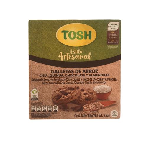 Comprar Galletas Tosh Artesanal Arroz Chocolate X 6und