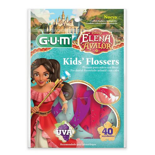 Comprar Seda Dental Gum Kids Flossers Elena X 40und
