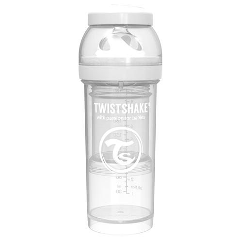 Comprar Biberon Anti-Colic Twistshake Blanco 8oz