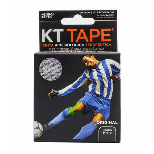 Comprar Cinta Deportiva Elastica Algodon Negro Kt Tape