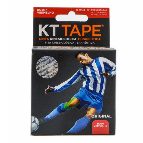 Comprar Cinta Deportiva Elastica Algodon Rojo Kt Tape