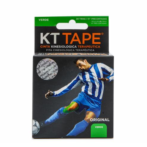 Comprar Cinta Deportiva Elastica Algodon Verde Kt Tape