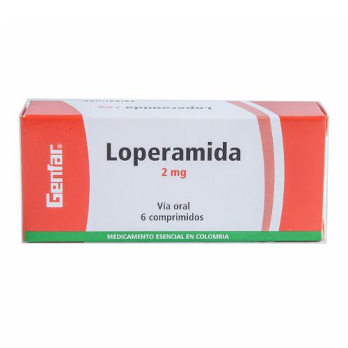 Comprar Genfar Loperamida 2mg X 6 Comprimidos