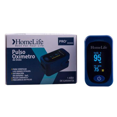 Comprar Pulsoximetro Adulto Pediatrico Homelife Azul