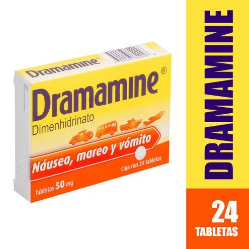 Comprar Dramamine 50mg X 24 Tabletas