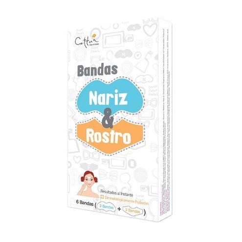 Comprar Bandas Cettua Nariz Y Rostro X 6und