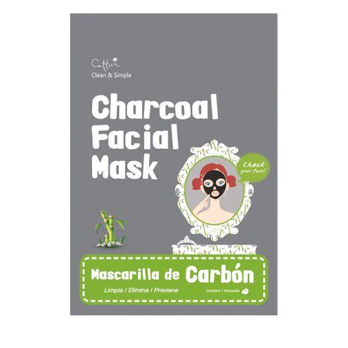 Comprar Mascarilla Carbon Cettua X 1und