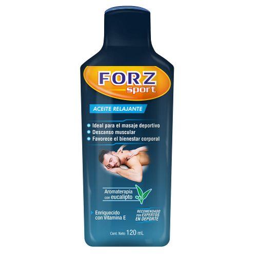Comprar Aceite Relajante Forz Sport Vitamina E X 120ml