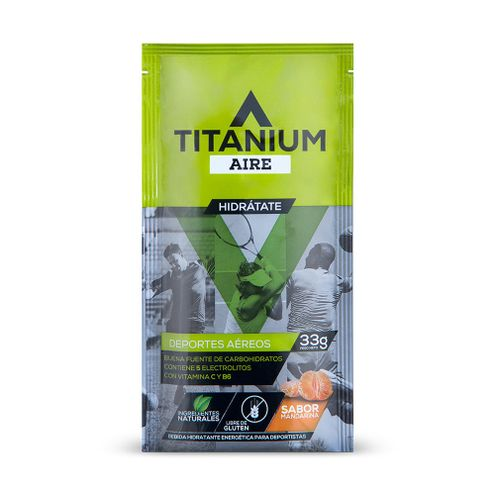 Comprar Bebida Hidratante En Polvo Titanium Aire Sachet Individual X 33g