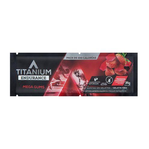 Comprar Gomitas Deportivas Titanium Mega Gums Fresa X 35g