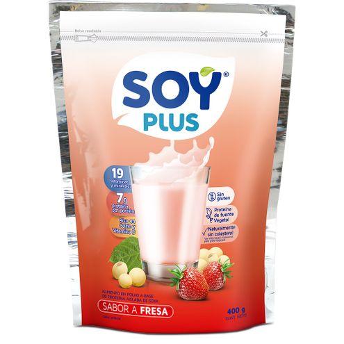 Comprar Leche Soya Fresa Soy Plus X 200g