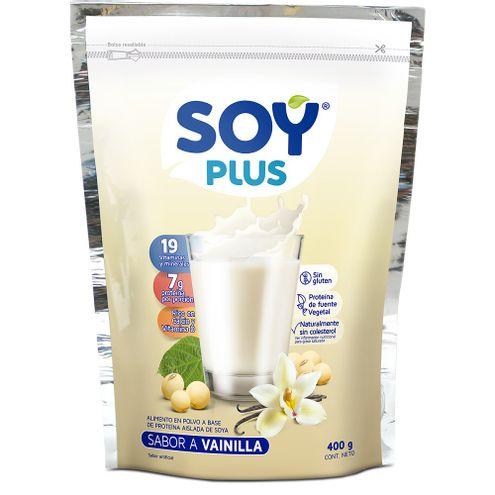 Comprar Leche De Soya Vainilla Soy Plus X 400g