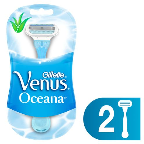 Comprar Maquina Afeitar Desechable Venus Oceana X 2und