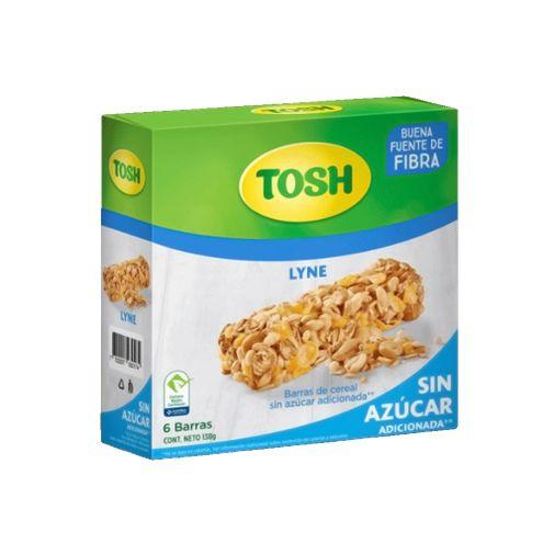 Comprar Barra Cereal Tosh Lyne Sin Azucar X 6und X 138g