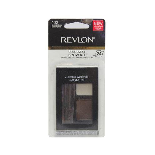 Comprar Kit Cejas Revlon Dark Brown 102