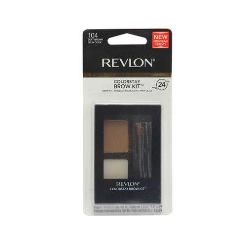 Comprar Kit Cejas Revlon Soft Brown 104