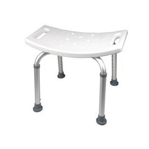 Comprar Silla De Ducha Plenia Rectancular De Aluminio Blanco