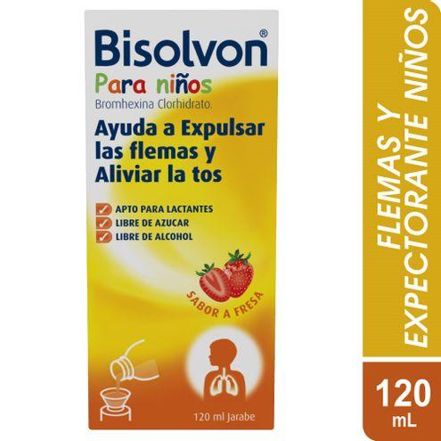 Comprar Bisolvon Linctus Niños Jarabe Fresa X 120ml