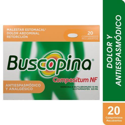 Comprar Buscapina Compostium Nf 10/325mg X 20 Comprimidos