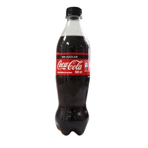 Comprar Gaseosa Coca Cola Sin Azucar X 500ml