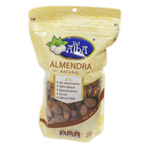 Comprar Almendra Del Alba Natural X 200g