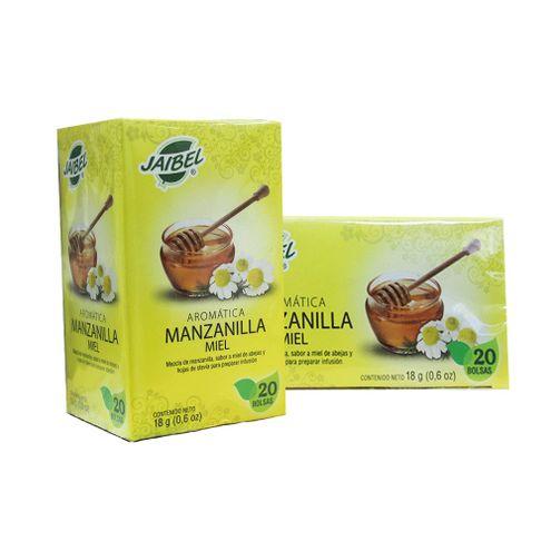 Comprar Aromatica Jaibel Manzanilla Miel X 20und