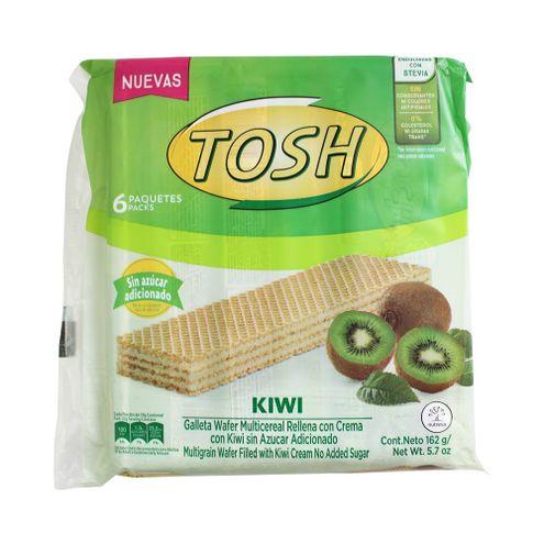 Comprar Galleta Tosh Wafer Kiwi Sin Azucar X 6und X 162g