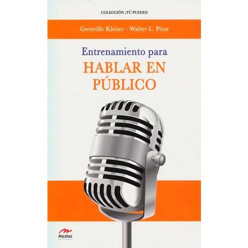Comprar Entrenamiento Para Hablar En Publico
