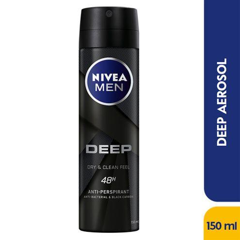 Comprar Desodorante Aerosol Nivea Men Deep X 150ml