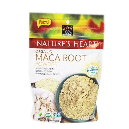Comprar Maca Organica Natures Heart Polvo X 100g