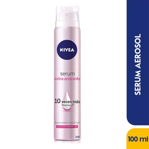 Comprar Desodorante Aerosol Nivea Serum Extra Aclarante X 100ml