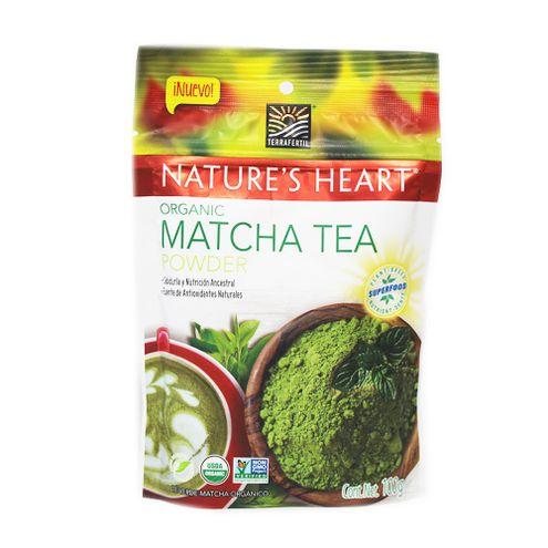 Comprar Te Verde Matcha Organic Natures Heart X 100g