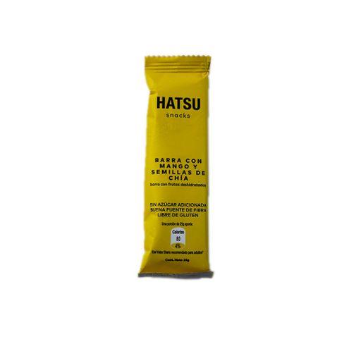 Comprar Barra Frutas Hatsu Mango Chia X 25g X 6und