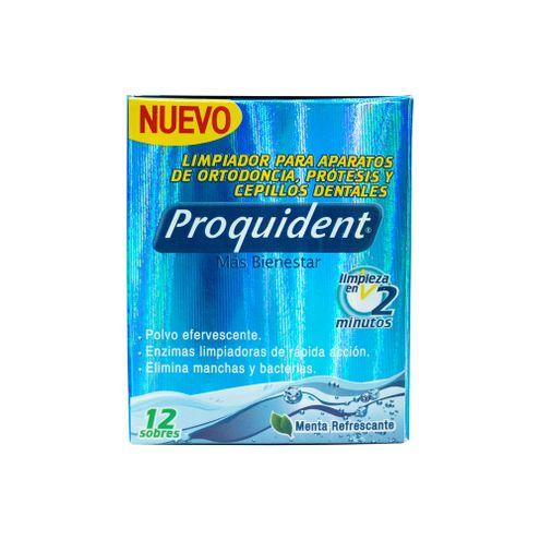 Comprar Limpiador Para Aparatos De Ortodoncia Proquident X 12und