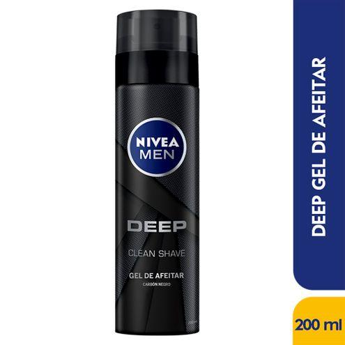 Comprar Gel De Afeitar Nivea Men Deep Clean Shave X 200ml
