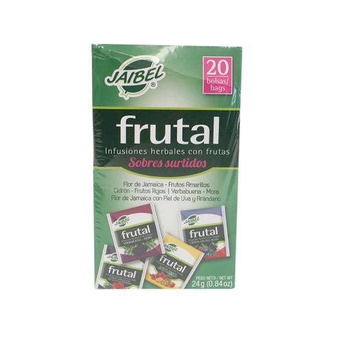 Comprar Aromatica Jaibel Frutal Surtido X 20 Sobres