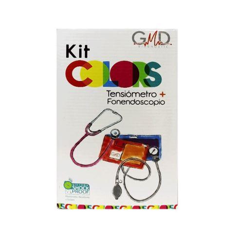 Comprar Kit Tensiometro+Fonendoscopio Gmd 2 Campana Purpura
