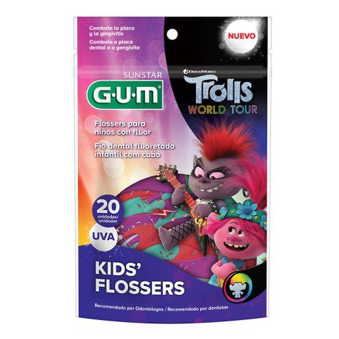 Comprar Hilo Dentilo Gum Kids Flosser Trolls X 20und