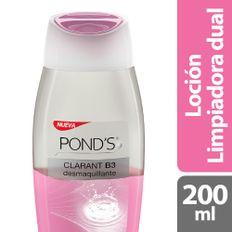 7501056346270_1_LOCION-LIMPIADORA-PONDS-CLARANT-B3-DUAL-X-200ML