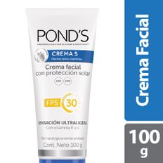7506306216761_1_CREMA-FACIAL-PONDS-S-PROTECCION-SOLAR-FPS-30-X-100G