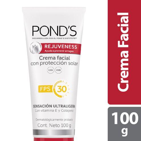 Comprar Crema Facial Ponds Rejuveness Proteccion Solar Fps 30 X 100g