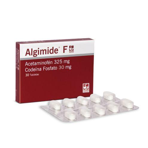 Comprar Algimide F 325/30mg Caja X 30 Tabletas