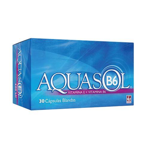 Comprar Aquasol B6 Caja X 30 Capsulas Blandas