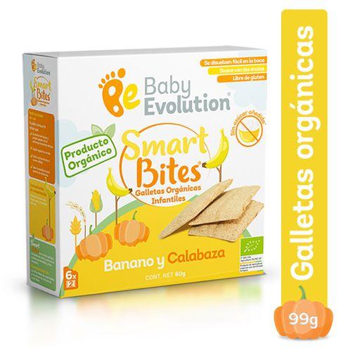 Comprar Galletas Organicas Baby Evolution Banano Y Calabaza X 6und