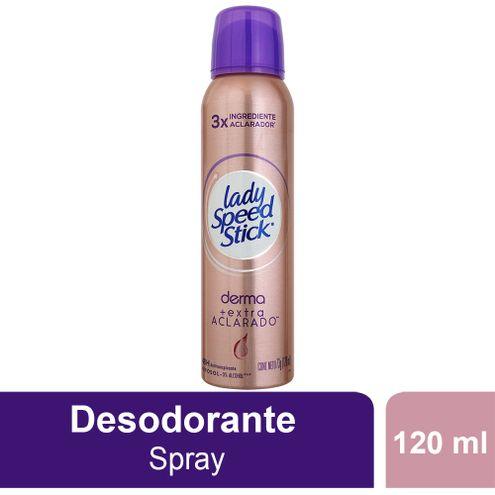 Comprar Desodorante Aerosol Lady Speed Stick Derma Extra Aclarado X 120ml