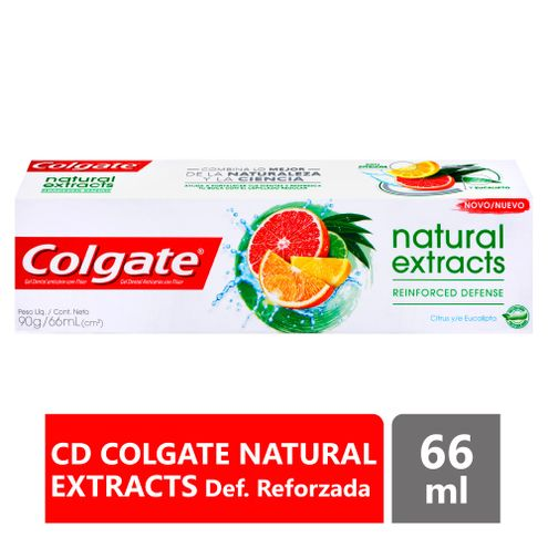 Comprar Crema Dental Colgate Extractos Naturales X 90g