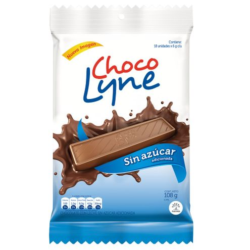 Comprar Chocolatina Chocolyne Dietetica X 18und