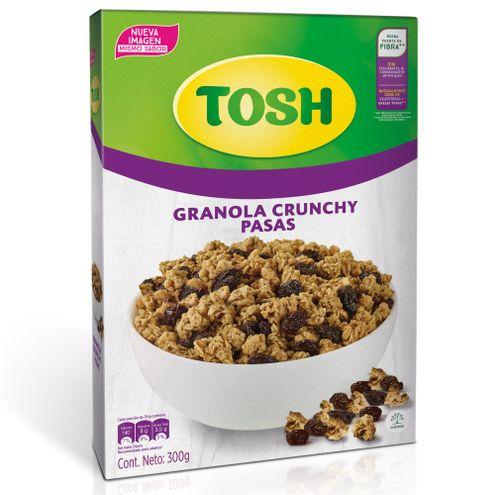 Comprar Cereal Tosh Pasas Caja X 300g