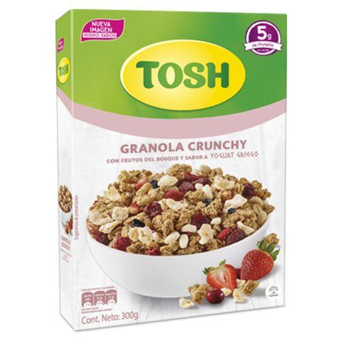 Comprar Granola Tosh Crunchy Frutos Del Bosque Y Yogurt X 300g